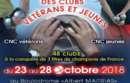 Finales C N C, Vétérans puis Jeunes, du 23 au 28/10.